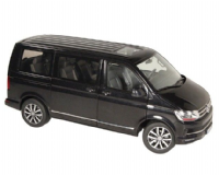NZG VW Volkswagen Highline transporter T6 1:18 Black